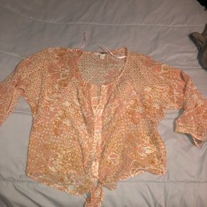 Sheer top can fit med large